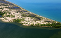 Lakeshore Beach, North Aerial 2019